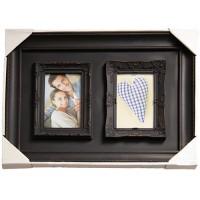 Коллаж на 2 фото 10х15 Platinum BIN-1122569 Antique brown.