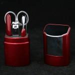 Маникюрный набор* MC 001 RUBY/C Red  5 предм