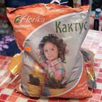 """Плодородный грунт """"Florika"""" – Кактус"""
