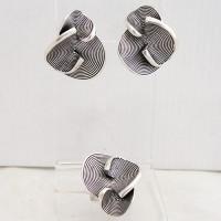 004 Набор – серьги и кольцо