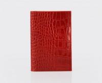 Обложка для паспорта.2 пластиковых кармана. O.1.KR.красный