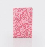 Обложка для паспорта.O.26.FR.розовый