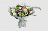 Букеты из живых цветов