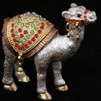 Шкатулка-верблюд со стразами