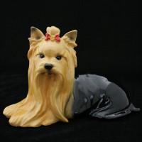 Собака (йоркширский терьер) керамическая