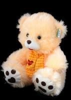 Медведь с жёлтым шарфом