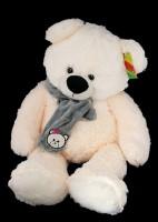 Медведь Дик с серым шарфом