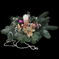 """Новогодняя (рождественская) композиция """"В ожидании сказки"""""""