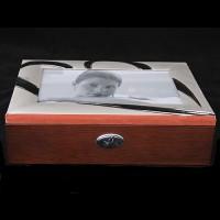 Шкатулка для ювелирных украшений 39813 с рамкой для фото 10х15