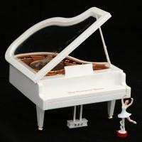 Рояль с балериной (музыкальная шкатулка)