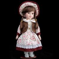 Кукла коллекционная в жилетке