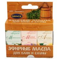Масла для бани и сауны