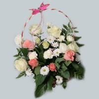 Корзина с цветами –1