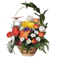 Корзина с цветами –2