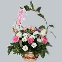 Корзина с цветами –3