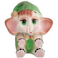 Копилка-слонёнок розовывй