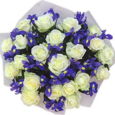 букет тиз роз ирисы2