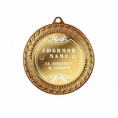 медаль в футляре0193